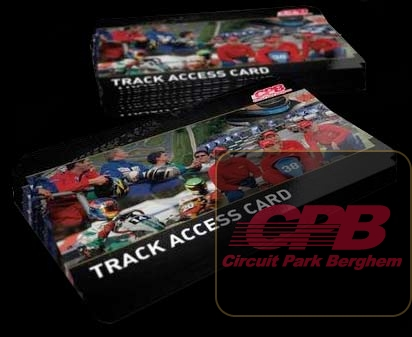 Track Access Card