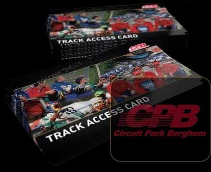 Track Access Card